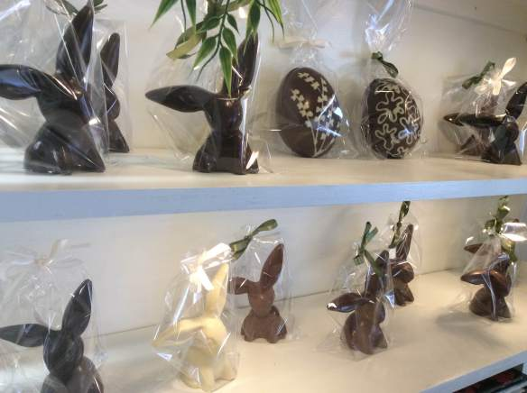 easter shelf